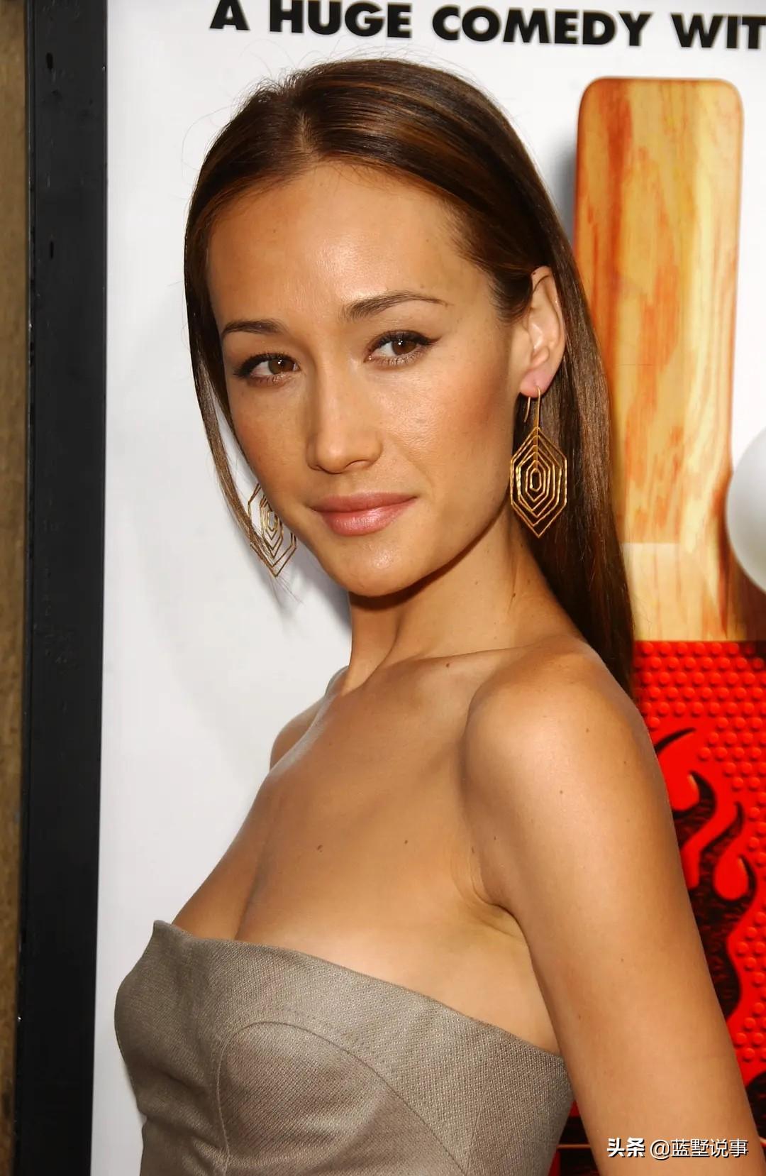 越南也有十大美女明星,排在第一的是美越混血儿,你看她最美吗?
