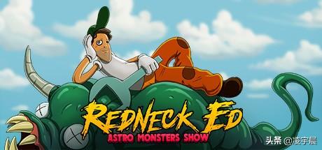 《红脖子艾德 太空怪兽秀》——画风独特手感一般的清版动作游戏