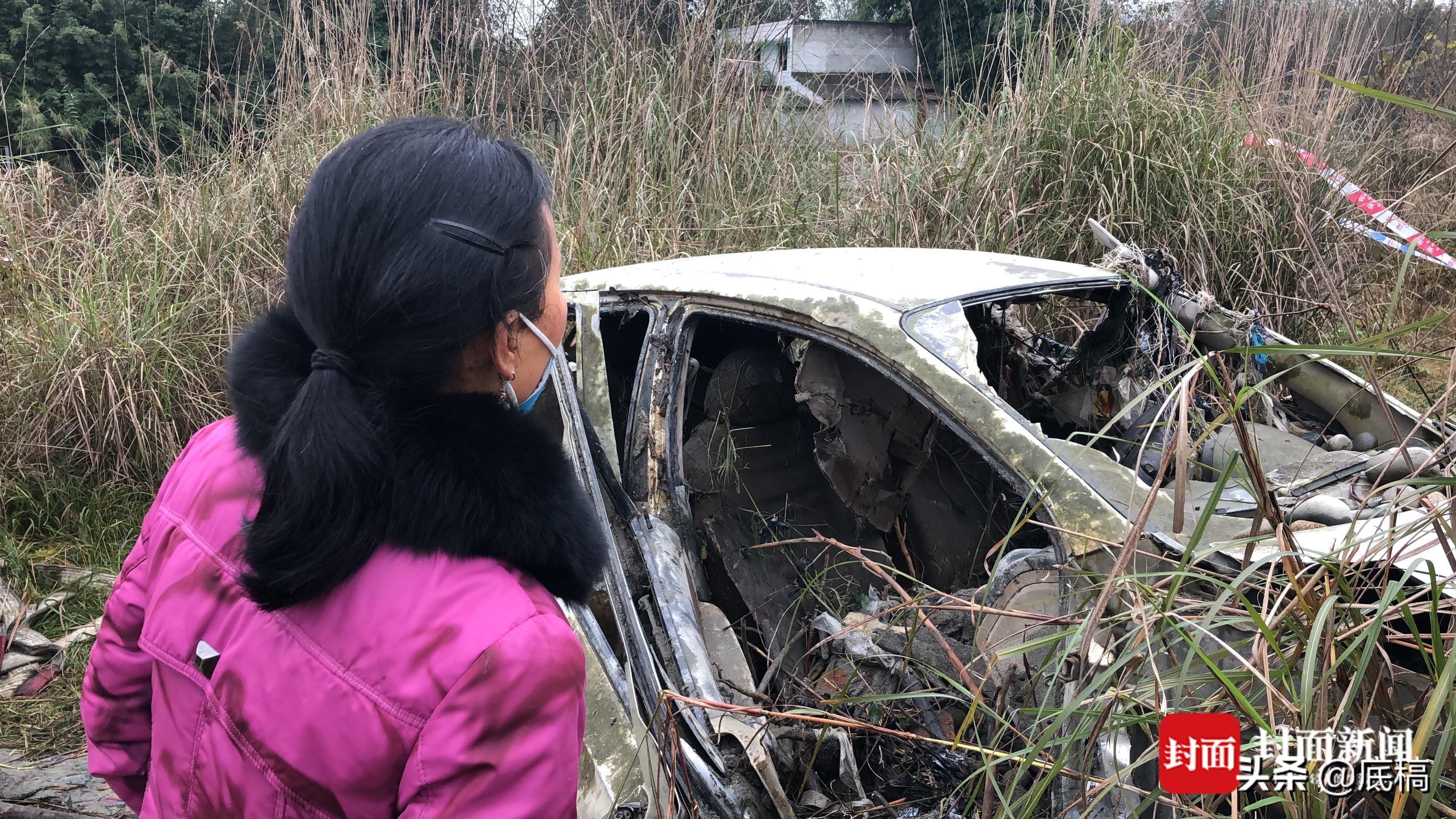 """轿车坠河四个月后被打捞上岸 车上两人是夫妻""""知情人""""透露更多细节"""