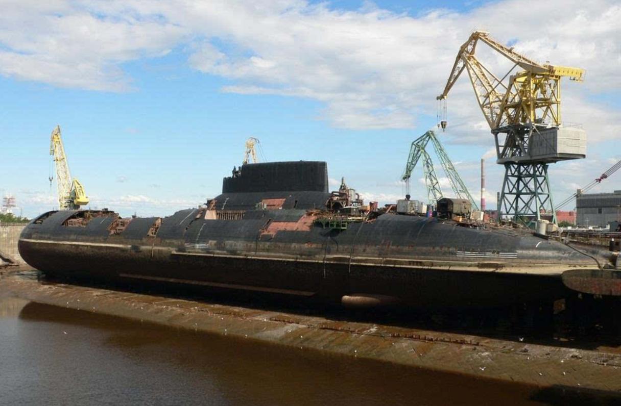 养不起了!全球最大的核潜艇面临退役,可以携带200枚核弹头