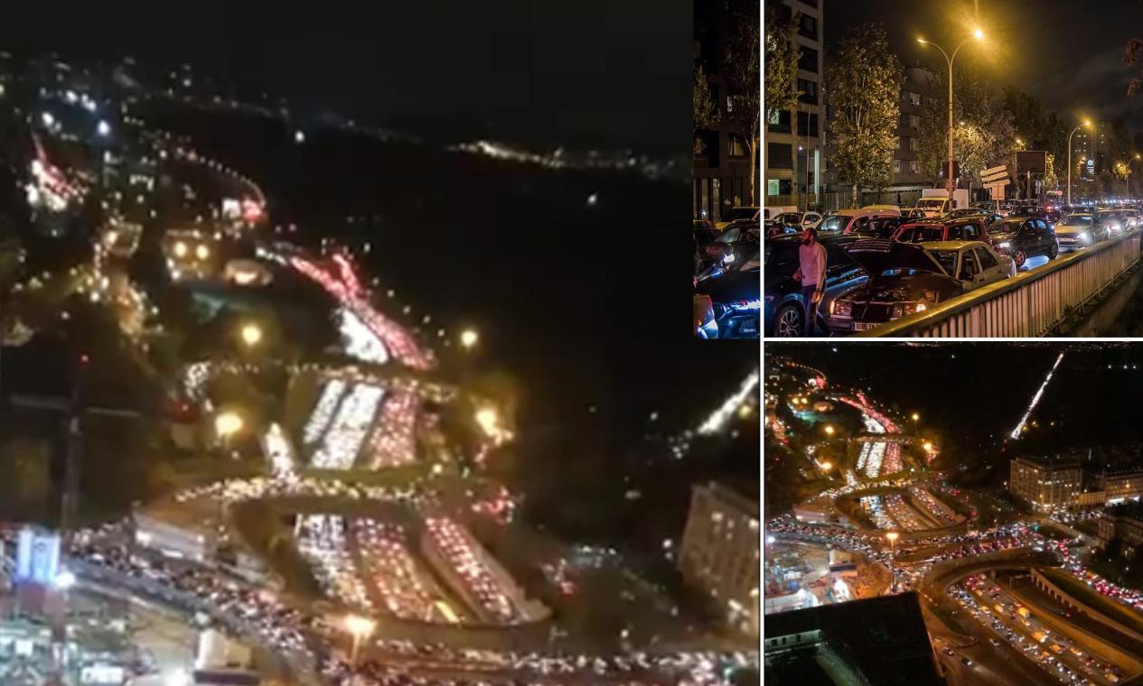 单日新增5万病例,法国全境封锁,民众集体逃离巴黎,堵车400公里