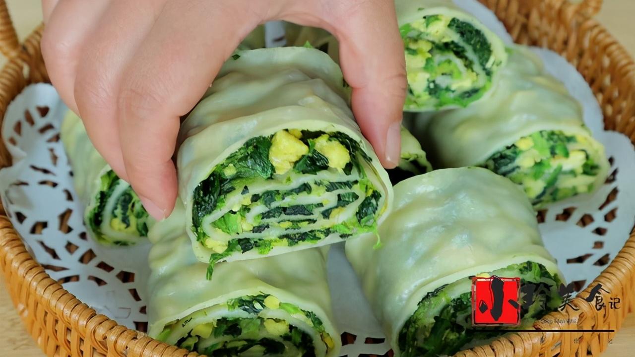 春季要多吃菠菜,补铁又补钙,学会这种做法,出锅孩子吃美了,香 美食做法 第1张