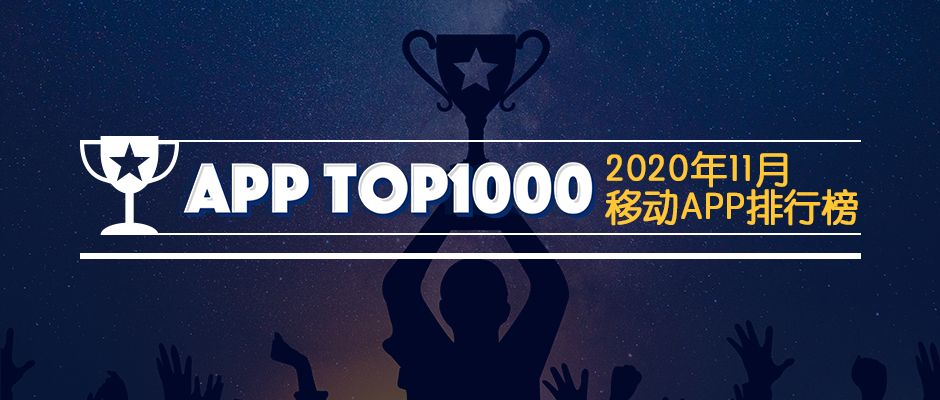 2020年11月APPtop1000用戶洞察|移動購物猛增