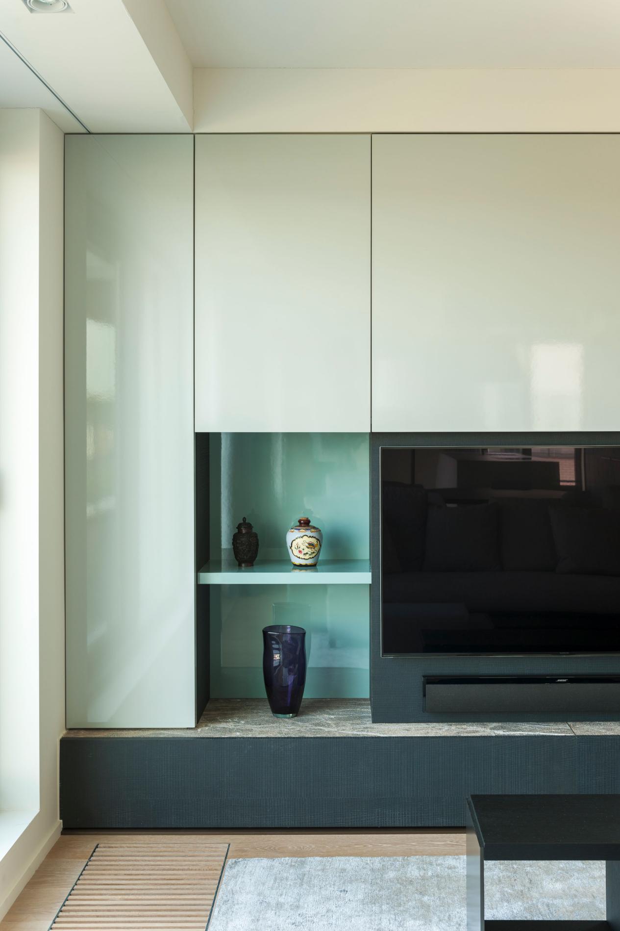 极简主义丁克夫妻的家,4间房打通,大开间东西不多,少了烟火气
