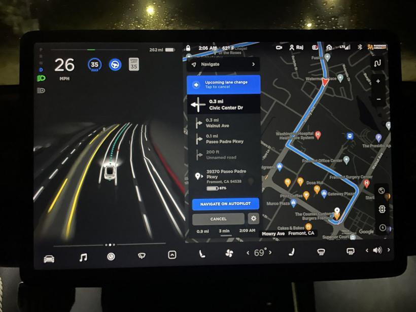 辅助驾驶再升级,特斯拉推出FSD Beta 10版本