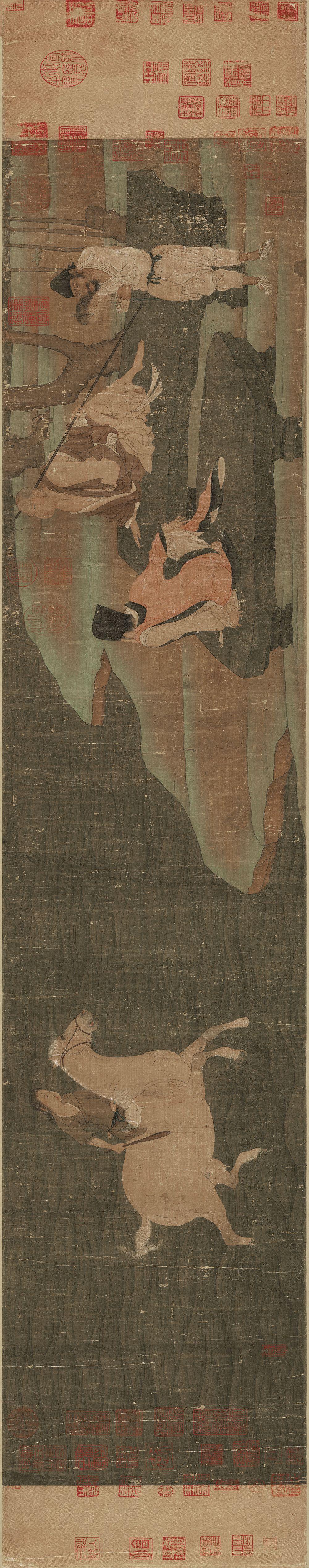八大国宝级传世书画