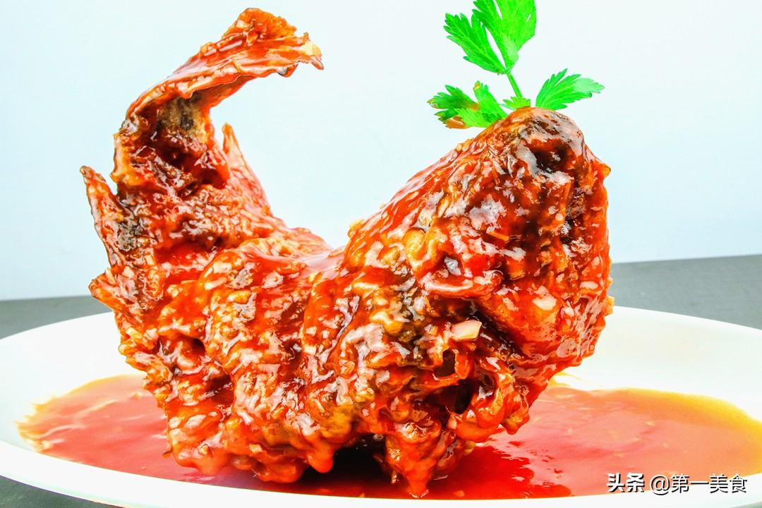年夜饭必备菜!翘头翘尾的糖醋鱼 好吃好看还美味 看1遍就学会