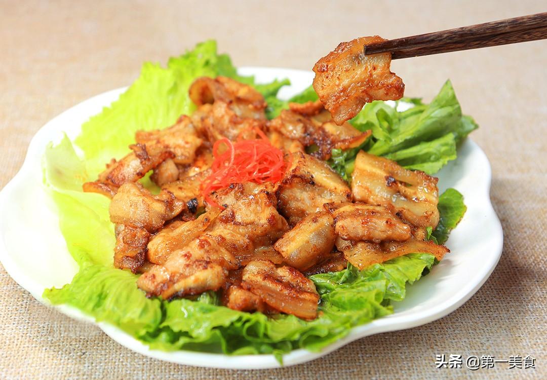 【煎肉片】做法步骤图 一腌一煎超简单 无厨艺也能做得很好吃