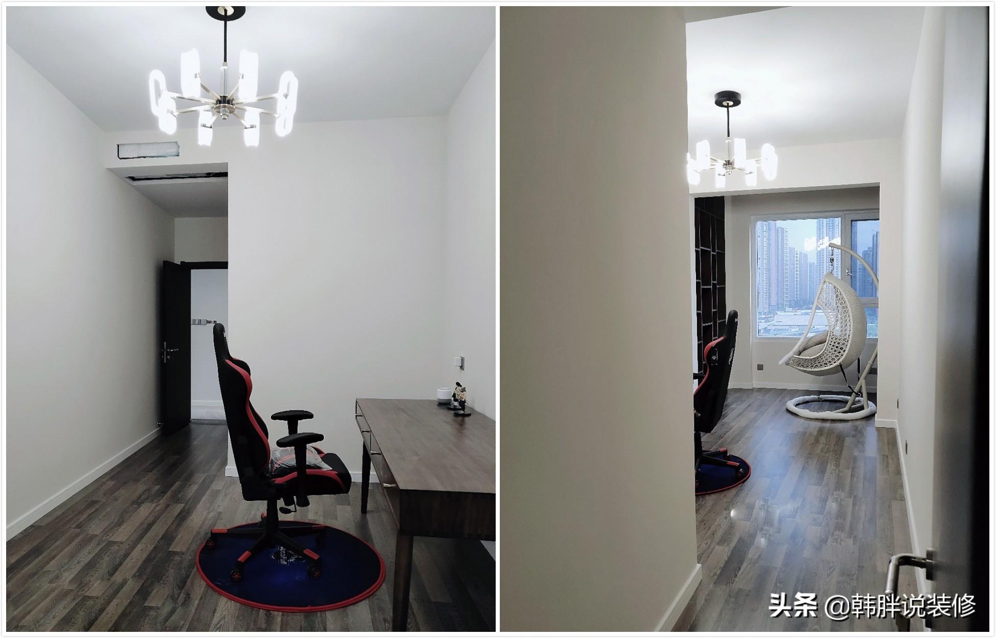 新房终于完工了,打扫干净正晾着通风,偷偷装个衣帽间给老婆惊喜
