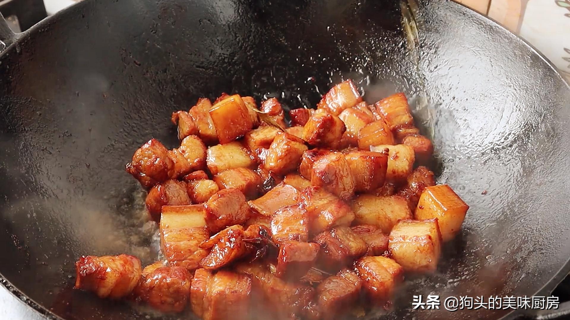 做红烧肉时,掌握这些小技巧,红烧肉不腥不柴,软烂入味口感好 美食做法 第11张
