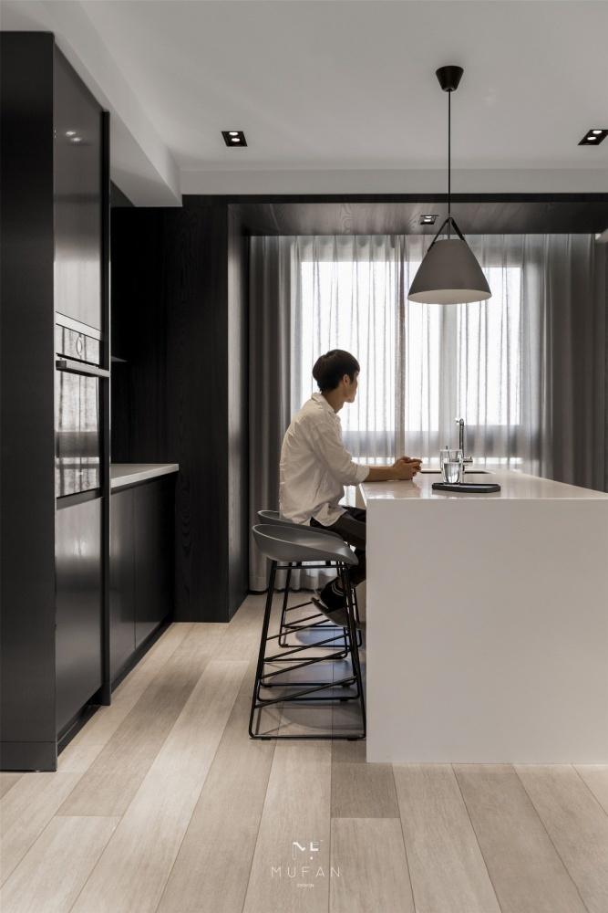 """上海夫妇130平的家,巧用""""灰度空间""""打造极致高级感,好生精致"""