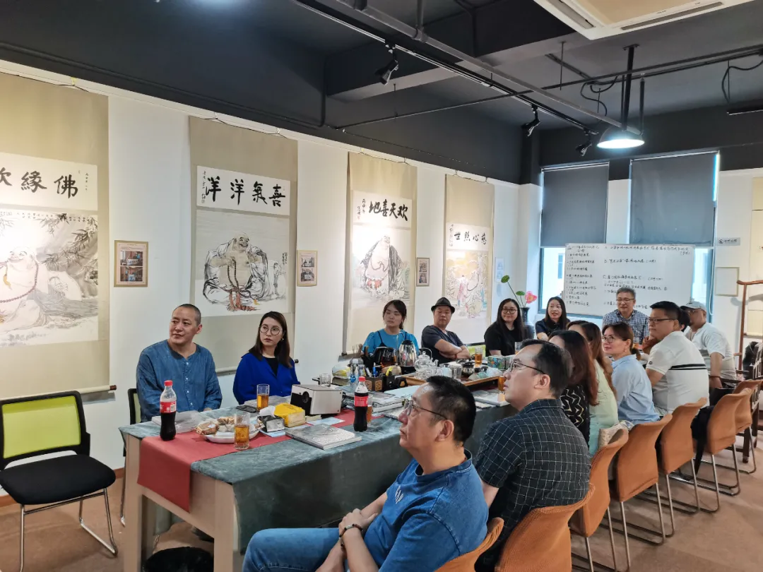 """盟路同行""""中国民主同盟上海美术工作者联合总支召开入盟活动"""