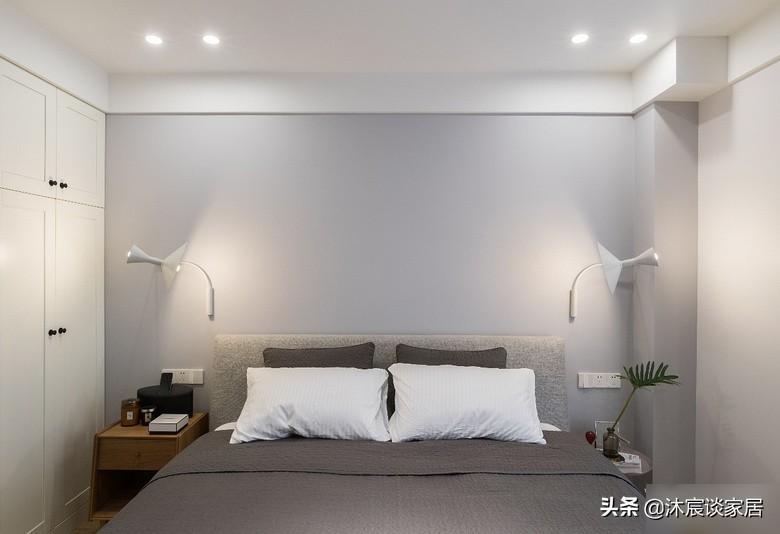 看了她的新居,才知家简单温馨就好,即便大白墙,同样能令人心动