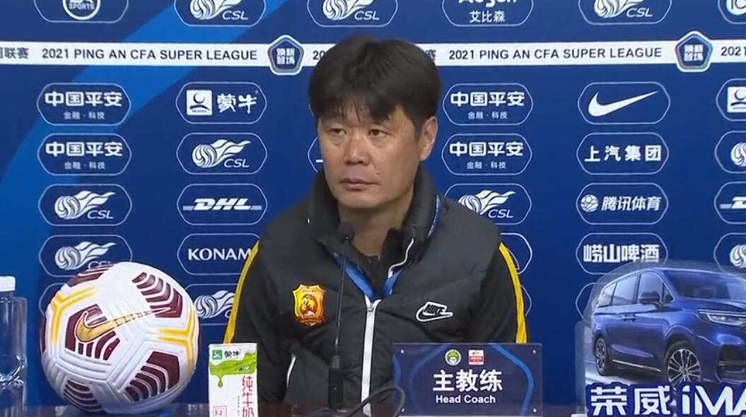 李宵鹏:武汉队尽力最大努力,唯一遗憾是球员心态没有把握好……