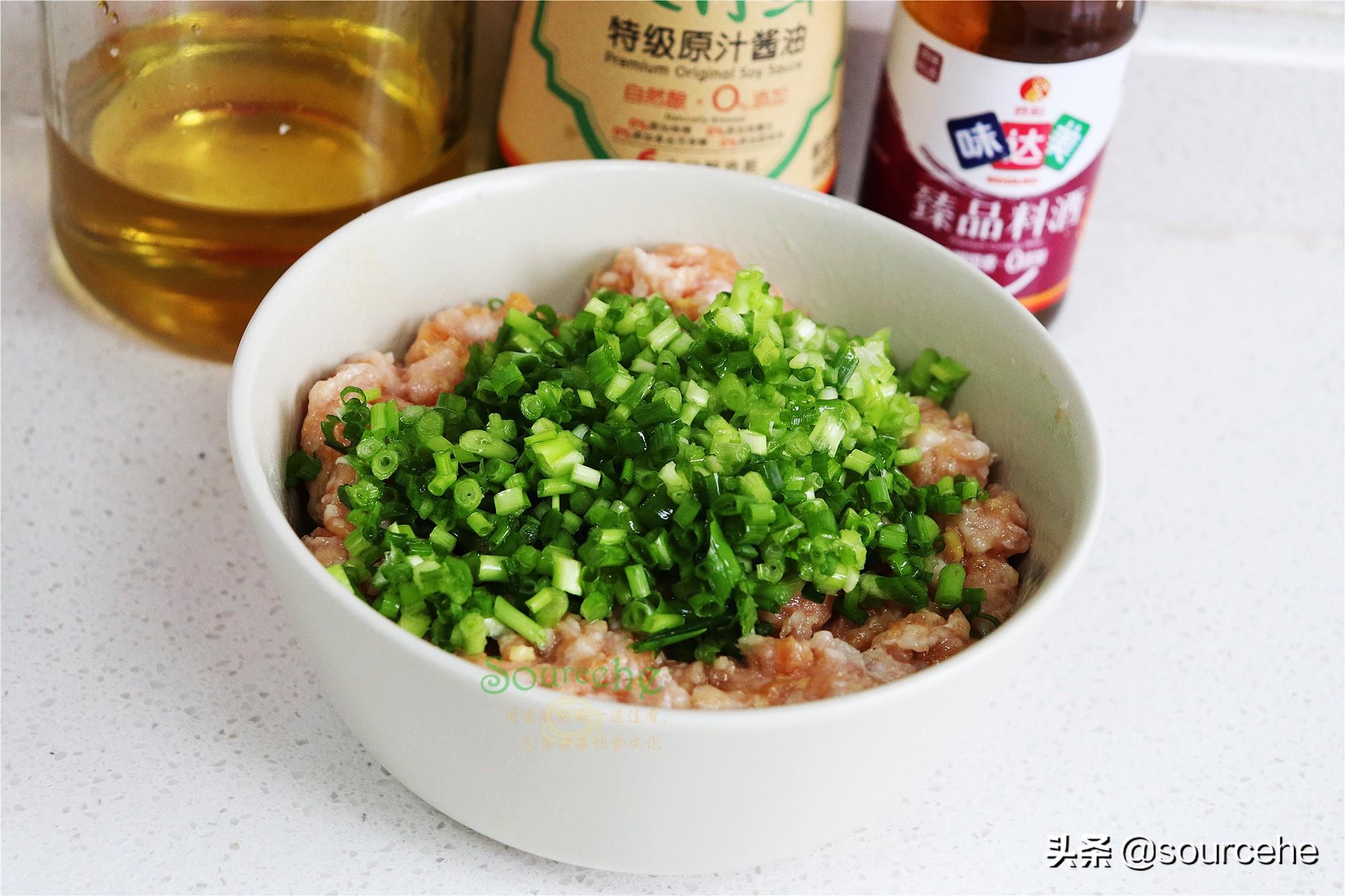 二月二,我家每年都做的傳統小吃,鮮肉煎餃,皮薄餡多香噴噴