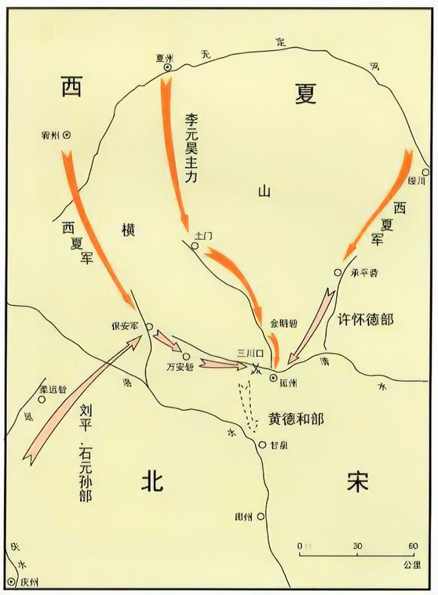 北宋被西夏吊打的原因:进攻是最好的防守,防守却是最差的进攻