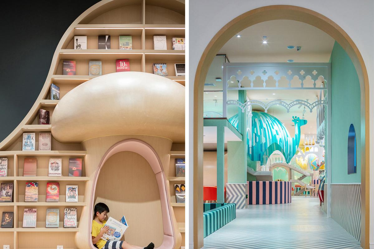 儿童书店+游乐园,既是学习乐园又是游乐天堂!