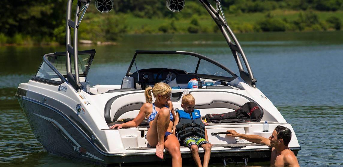 新雅马哈AR195运动艇,一艘适合家庭周末休闲娱乐的游艇