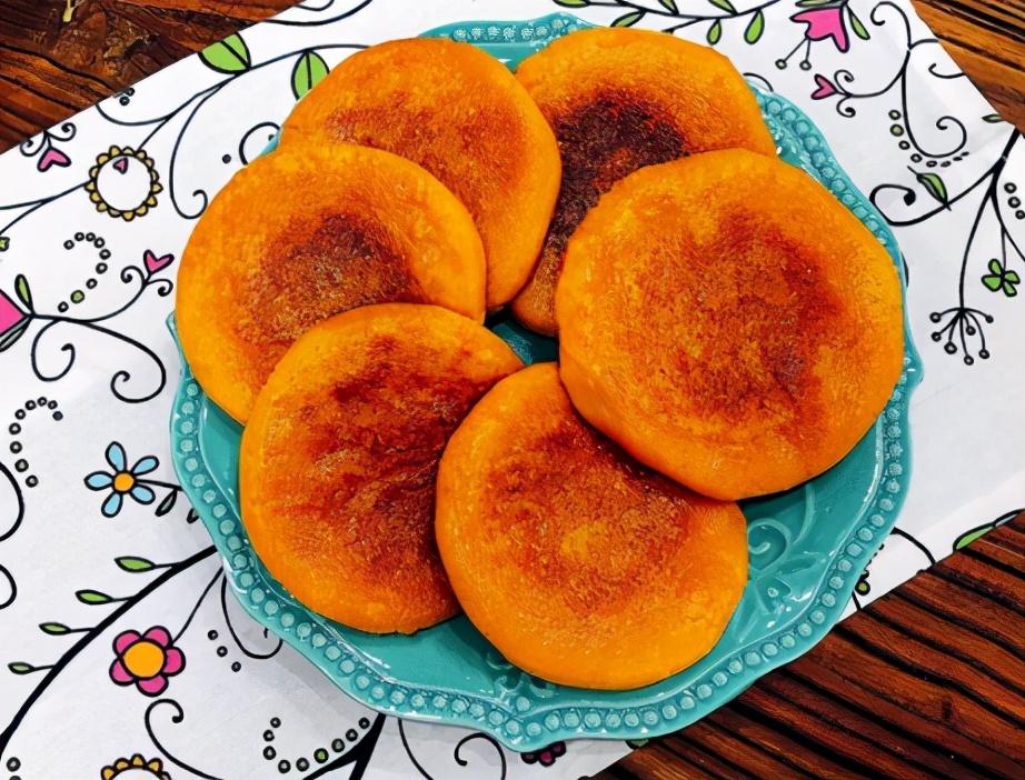 芝士南瓜饼的做法步骤图 老人小孩可常吃