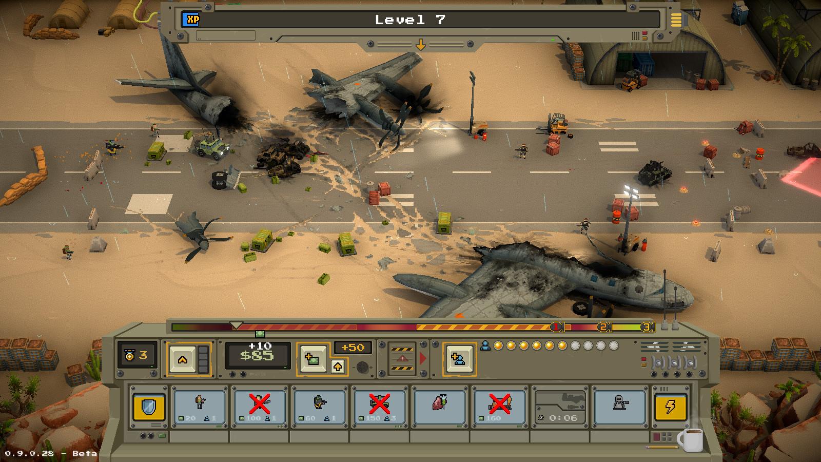 一款非常有趣的对攻式塔防游戏