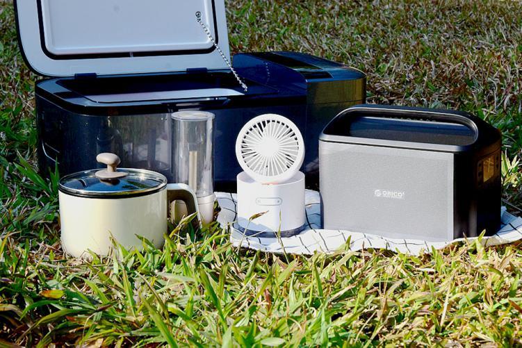 无市电下500W大功率户外用电全兼容解决方案,煮饭是问题?