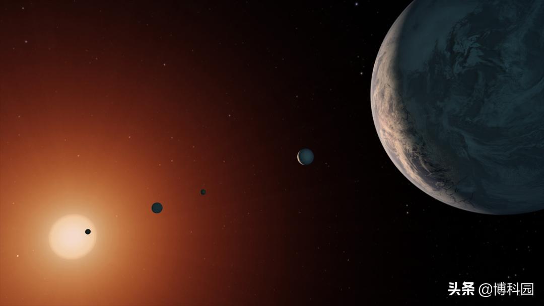 一个重要的发现:TRAPPIST-1宜居行星轨道没有错位