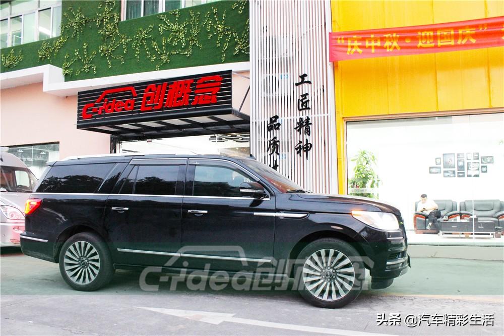 大型豪华SUV内饰改装林肯总统一号的魅力