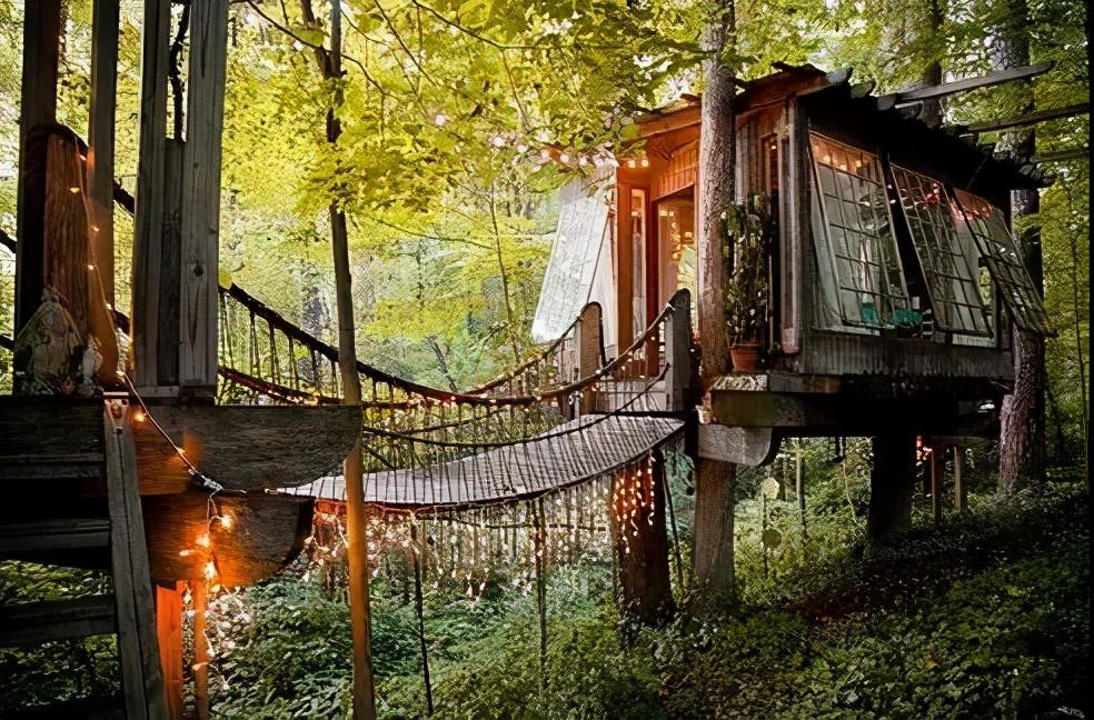 有一种度假,是去郊外住小木屋