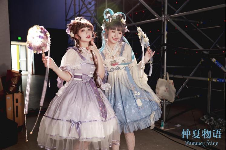 被无数少女关注的仲夏物语Lolita,开了一场时尚秀典