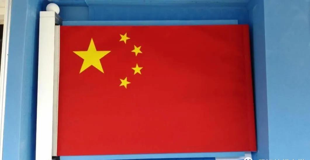 不褪色不变形,月面展示的首面国旗出自武汉这所高校