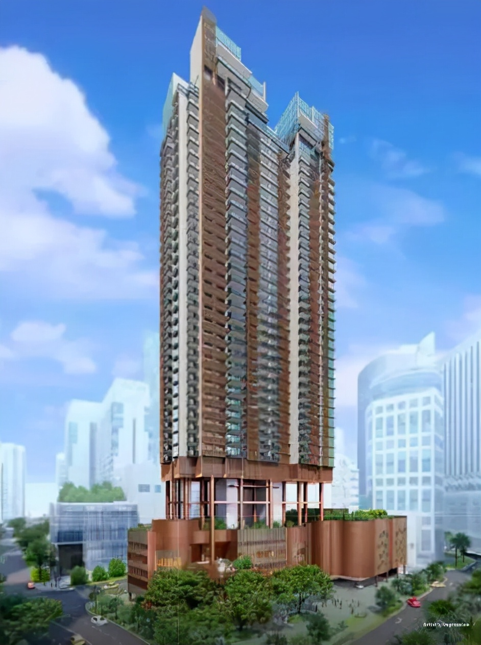 新加坡核心中央区豪华公寓丨One Bernam 柏南华庭