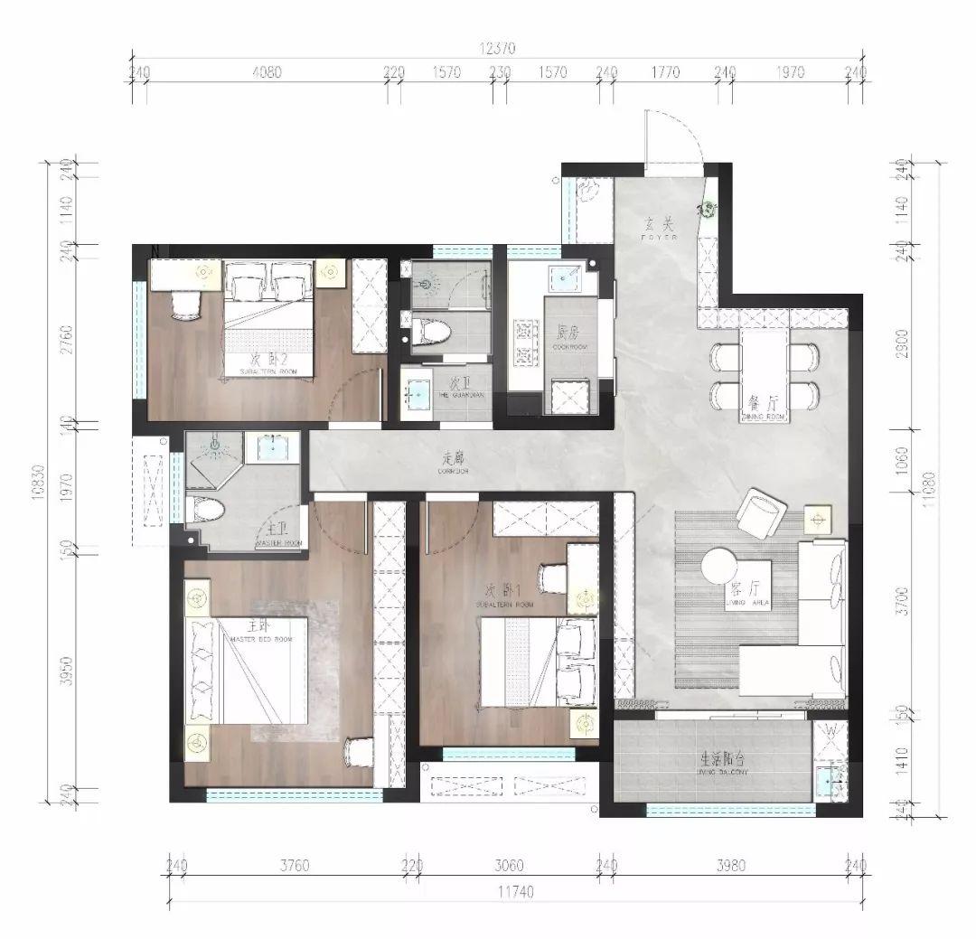 房子怎么裝修設計?提前做好方案,裝修有備無患