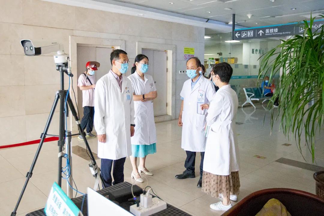 北京大学滨海医院开展疫情防控督导巡查