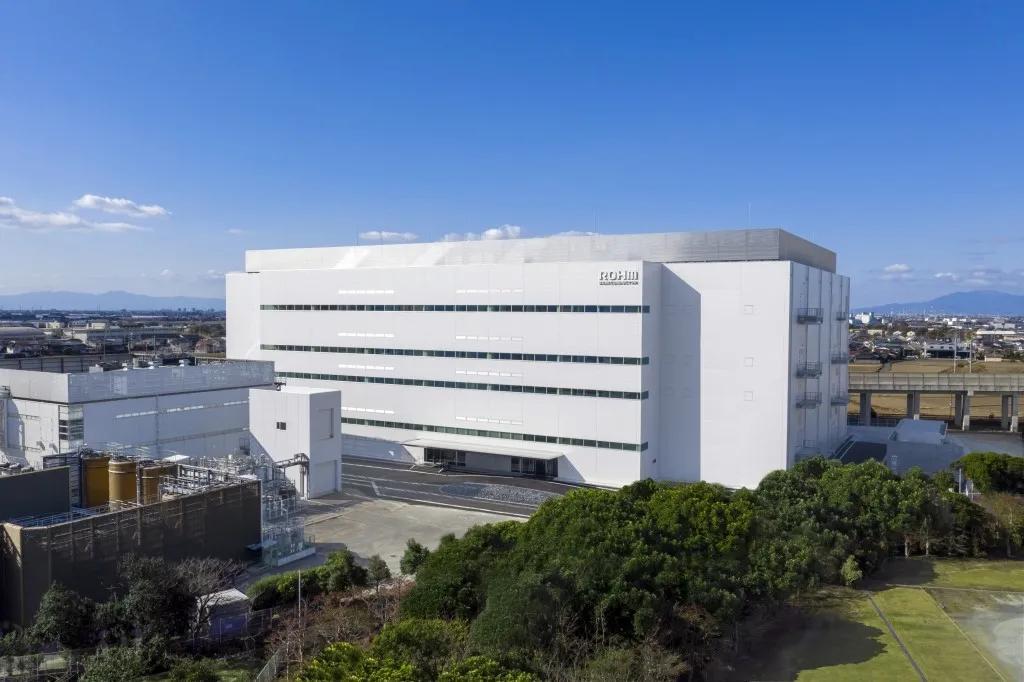 罗姆环保型新厂房竣工,为SiC功率元器件生产增能