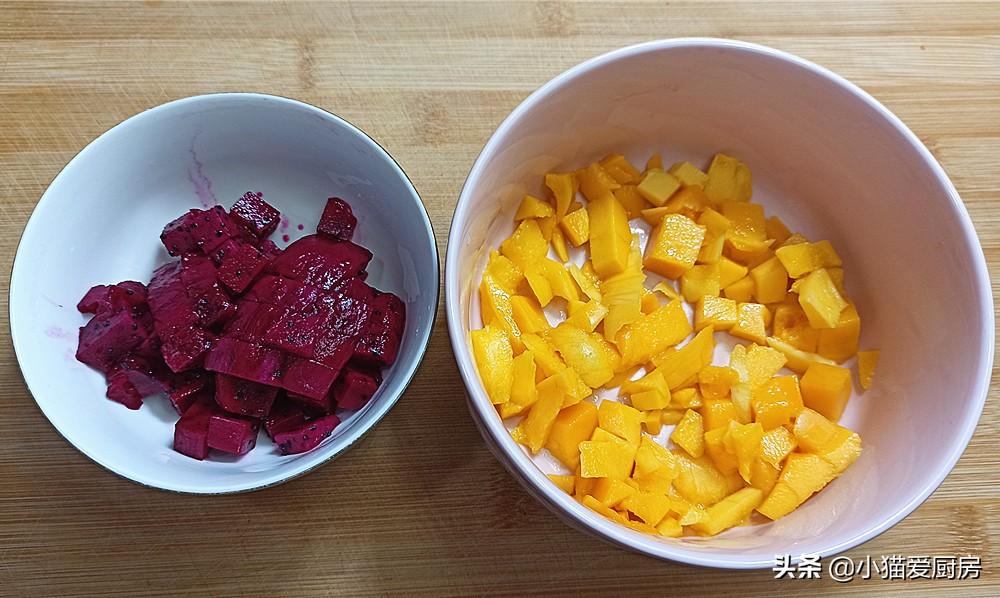 【水果果冻】做法步骤图 而且做法非常简单 孩子喜欢