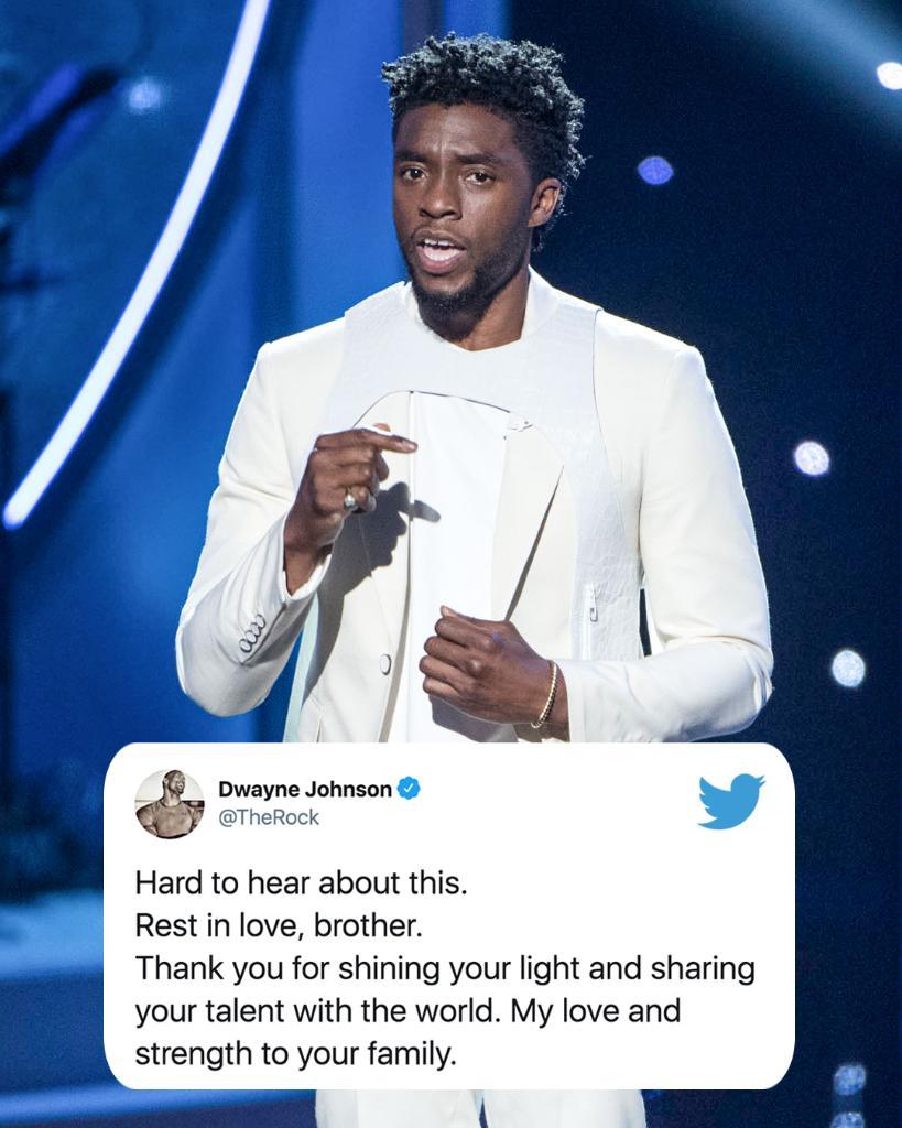 黑豹去世,NBA众星发推哀悼