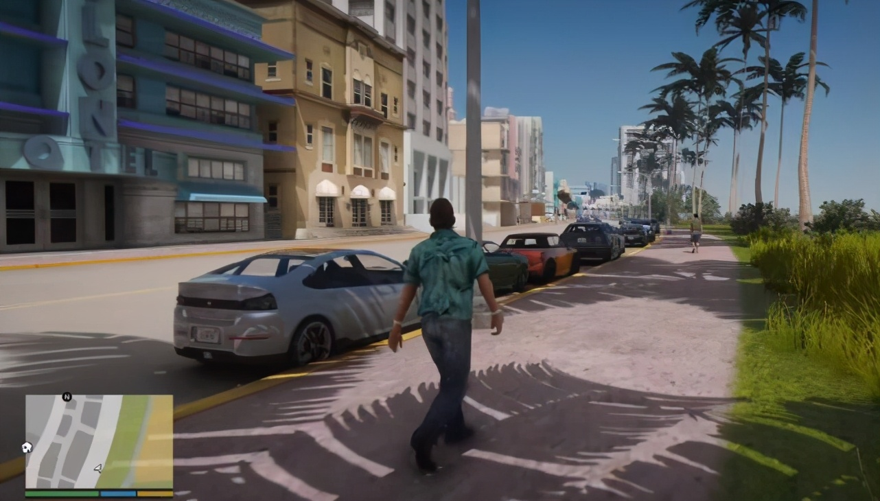"""""""GTA: Vice City"""" ushered in the high-definition era, what is the effect after replacing the engine?"""