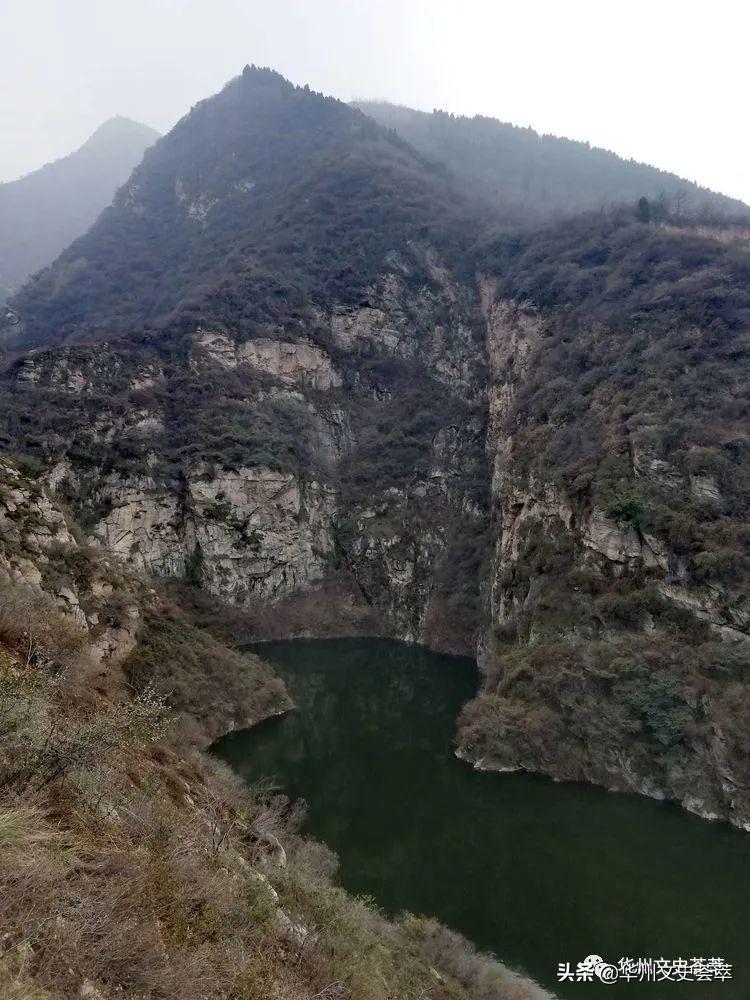 初冬的华州潭峪