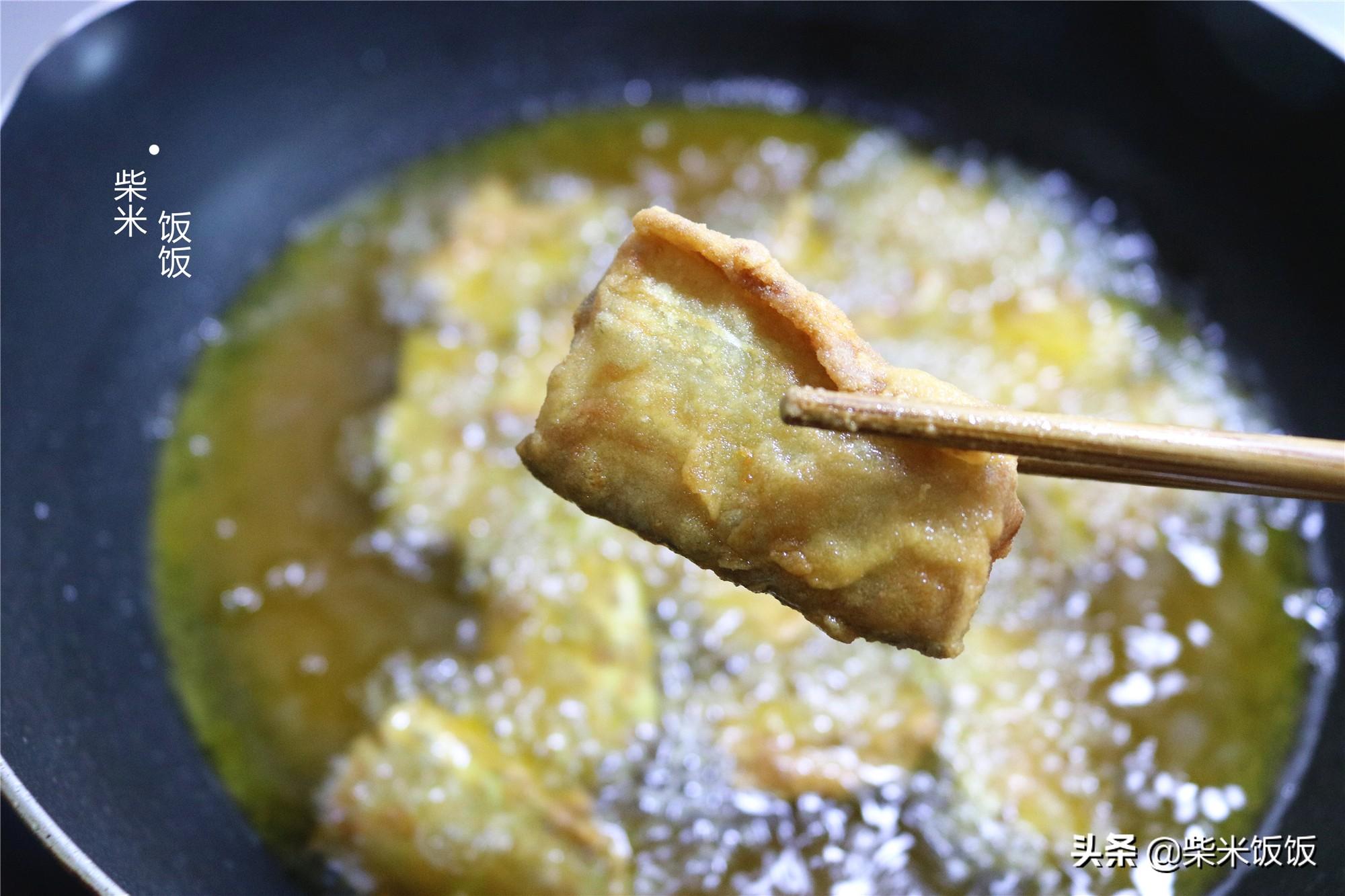 乾炸帶魚家常做法,只需簡單調味料,香酥鮮嫩,好吃無腥味