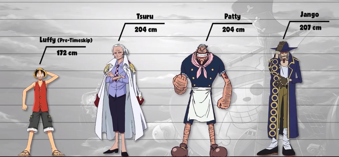 海賊王百名角色數據公示4:76歲2米身高,海賊設定至今是迷