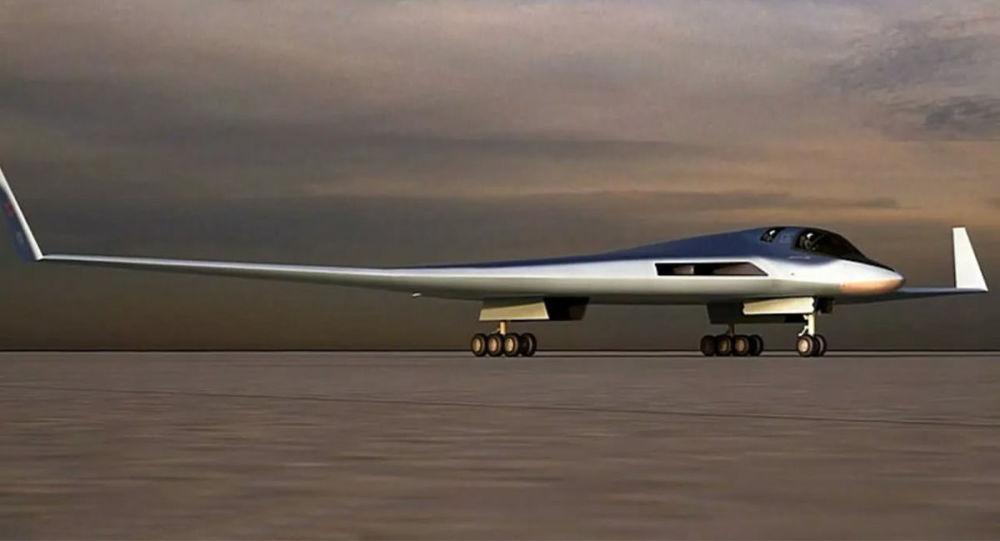 """中国轰-20还不来?俄罗斯最新隐形战略轰炸机或抢先 原创七号观察室2020-12-24 13:53:04 中国轰-20还不来?俄罗斯最新隐形战略轰炸机或抢先 图为""""PAK-DA""""猜测图  轰-20的传"""