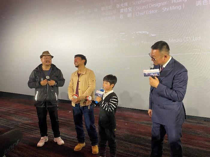 影片《拨浪鼓咚咚响》举行陕西答谢首映礼