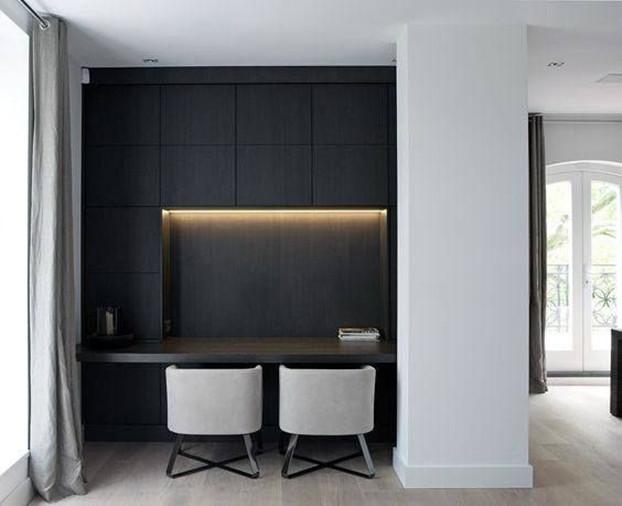 国外隔断墙拿来做书房,省了整整一间房,又多5平空间适合小户型