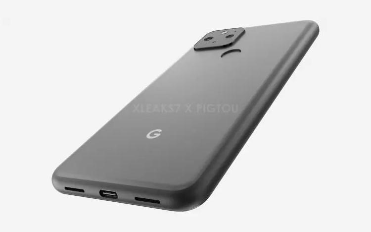 GooglePixel 5宣图曝出:正脸选用挖孔屏设计方案 后置摄像头指纹识别