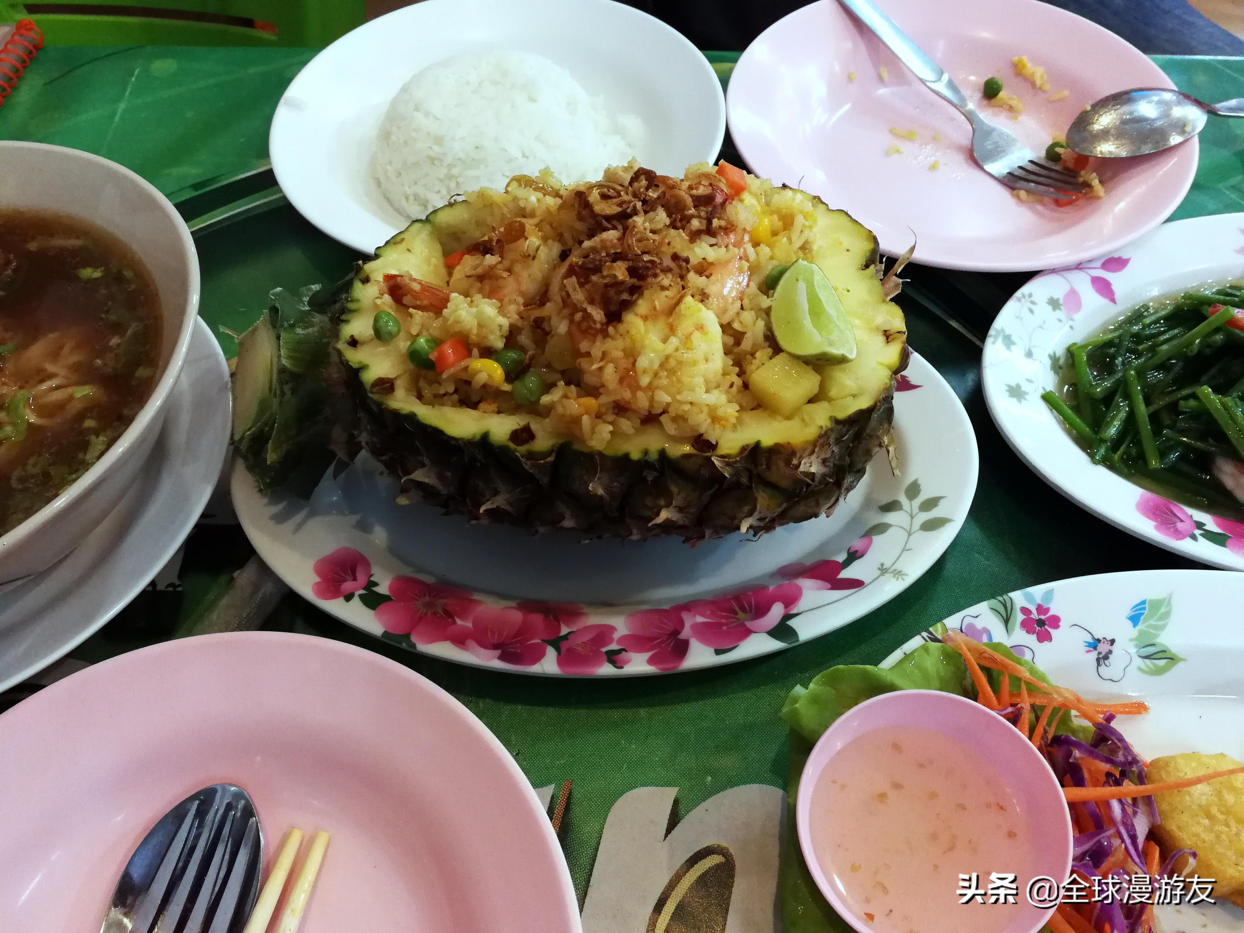 吃了这么多的泰国小吃,完全因为不懂当地语言
