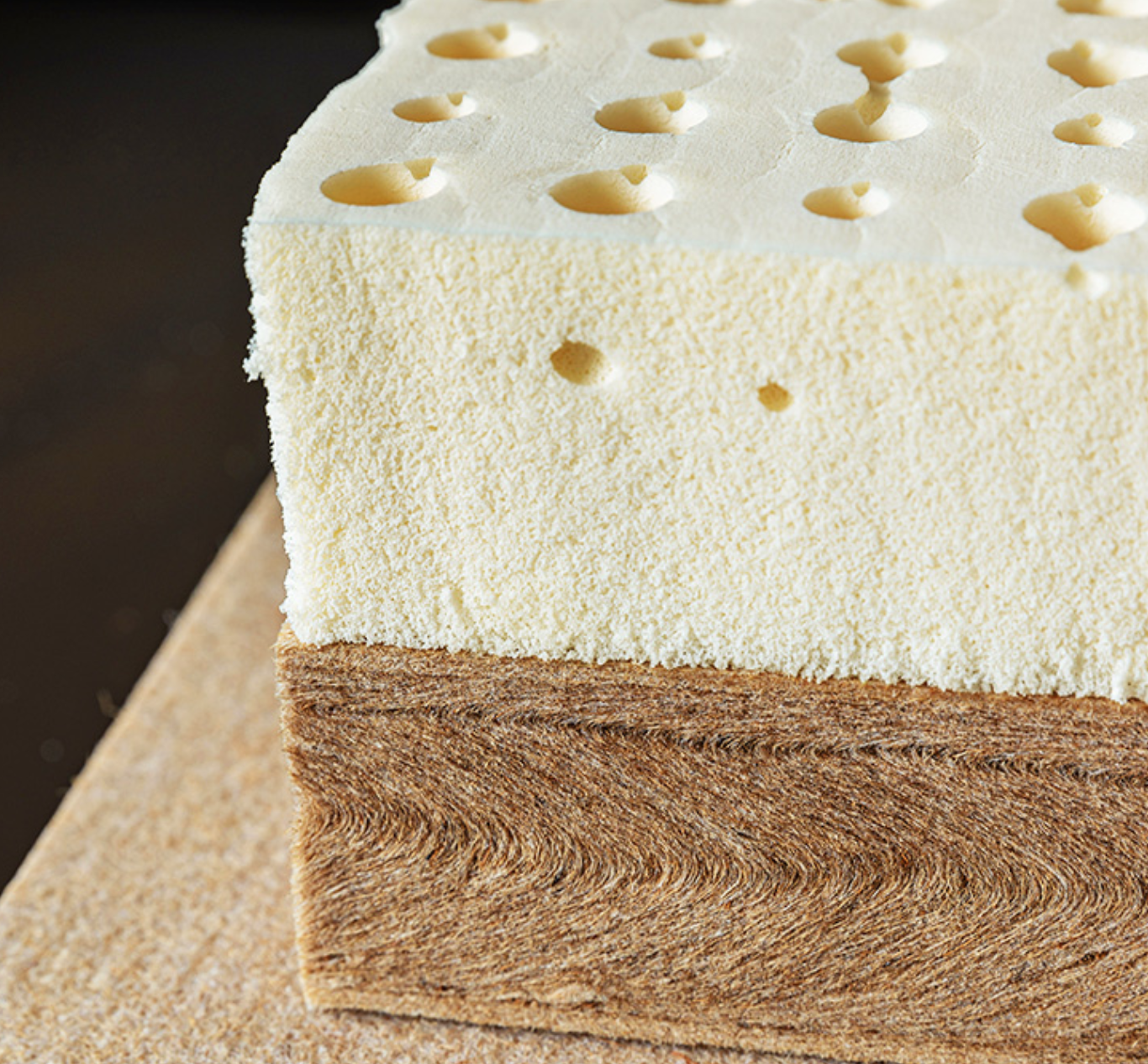 苏老伯精细黄麻床垫 透气导湿还没有甲醛