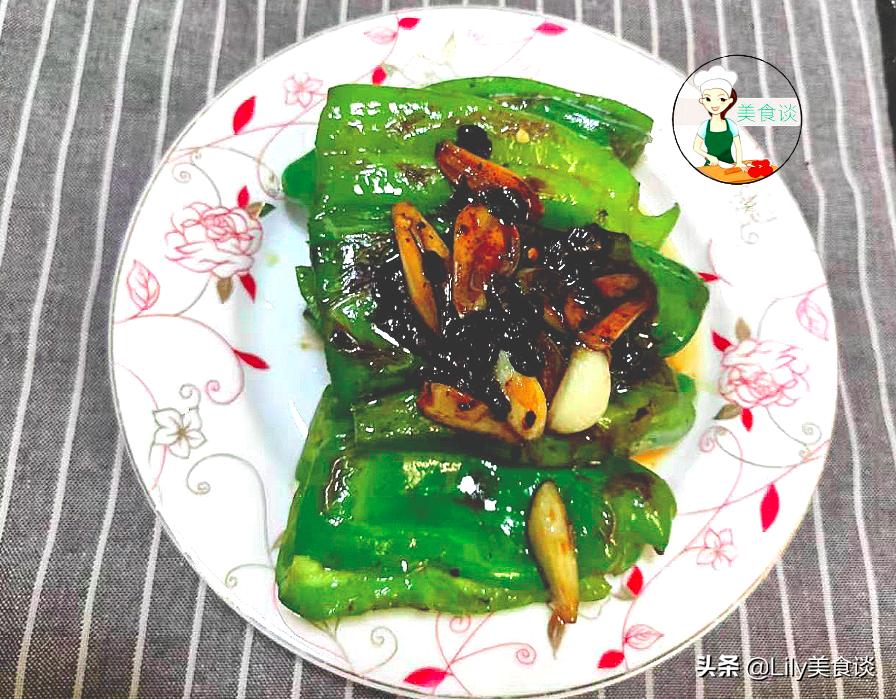 自从学会青椒此吃法,儿子吃一次馋一次,又香又下饭,做法还简单 美食做法 第1张
