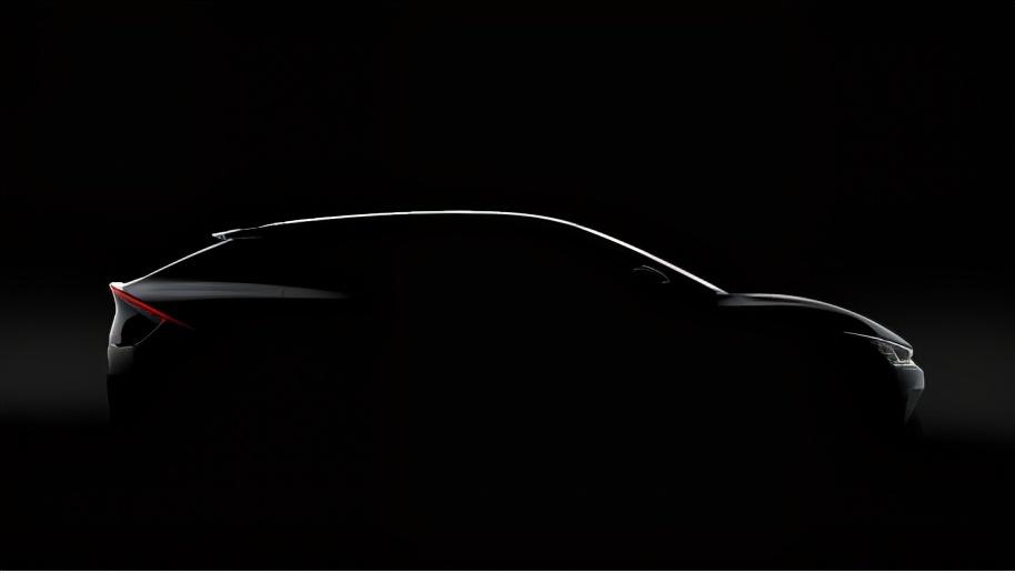 向全面电动化时代正式启航,起亚公布首款专属电动车型EV6首批预告