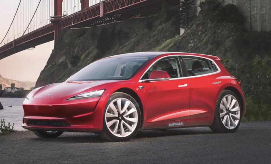 """特斯拉小型电动汽车2023年发布,或推""""短续航版"""",对标大众 ID.3"""
