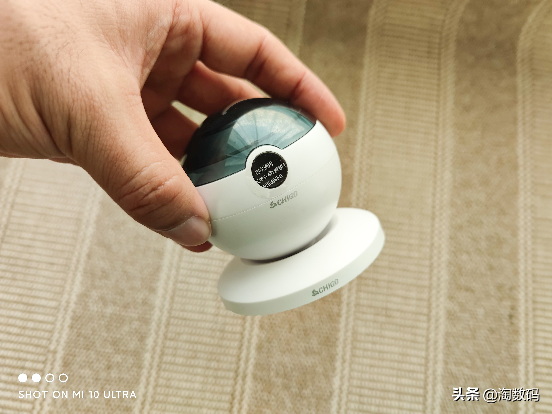 """这""""摄像头""""是个IPX7整机防水的Type-C磁吸快充型剃须"""
